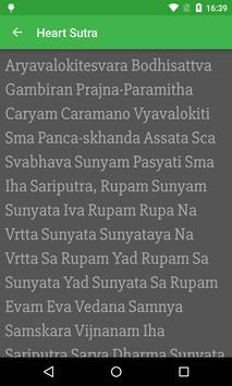 Heart Sutra apk screenshot