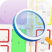 土地使用分區 2.0 icon