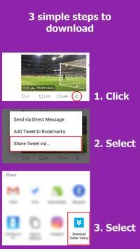 Download Twitter Videos imagem de tela 2
