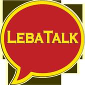 LebaTalk - Chat to Meet icon