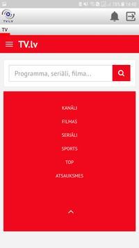 TV.LV apk screenshot
