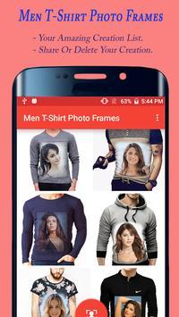 Men T Shirt Photo Frames apk screenshot