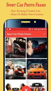 Sport Car Photo Frame apk screenshot