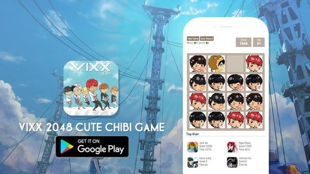 2048 VIXX Chibi Version screenshot 1