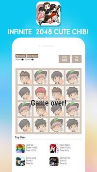 2048 Infinite Chibi Version screenshot 2