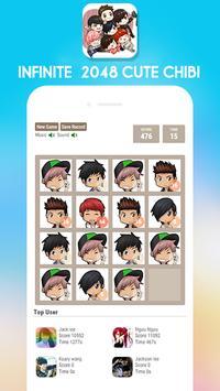 2048 Infinite Chibi Version screenshot 3