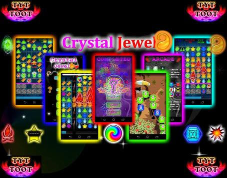 Crystal jewels poster