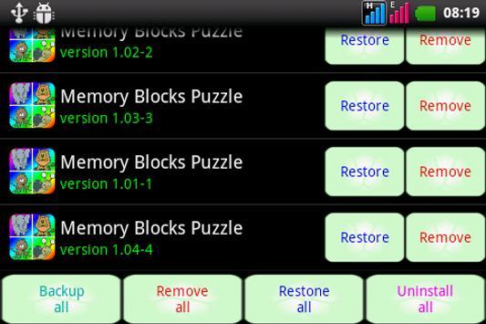 Aremon backup apk screenshot 11