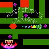 Action maze icon