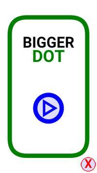 Bigger dot poster