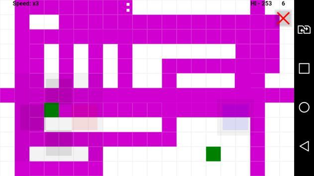 Snake and apple apk screenshot