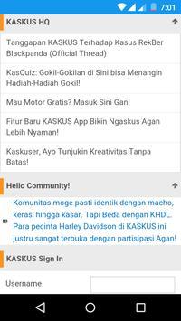 Tapp for Kaskus apk screenshot