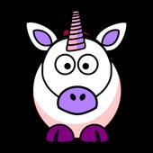 Sarah's little unicorn icon