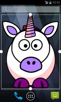 Sarah's little unicorn poster