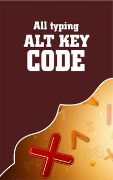 Alt Key Code For All Typing poster