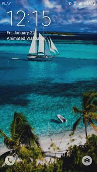 Paradise Live Wallpaper apk screenshot