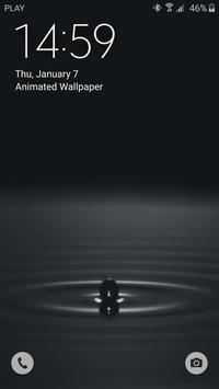 Water Drop Live Wallpaper apk screenshot