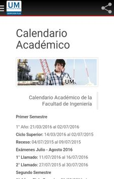 UM Ingenieria (No Oficial) apk screenshot