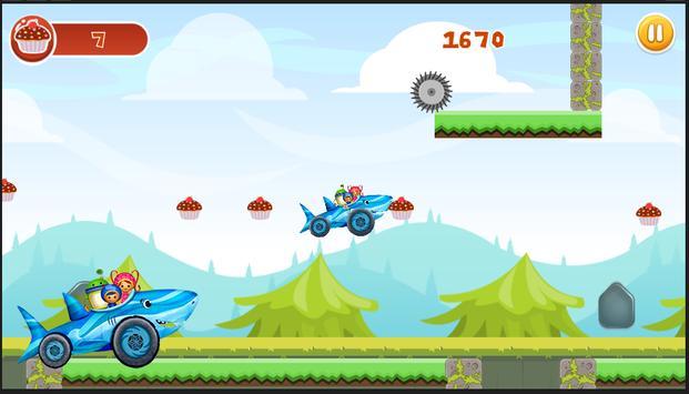 Umi Shark Car Adventure screenshot 1