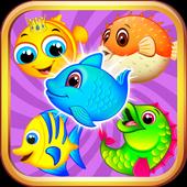 SEA ANIMAL MATCH 3 PUZZLE GAME icon