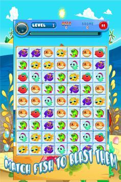 SEA ANIMAL MATCH 3 PUZZLE GAME screenshot 5