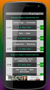 Betting Tips Under/Over poster