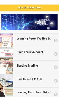 Basic - How to trade forex poster