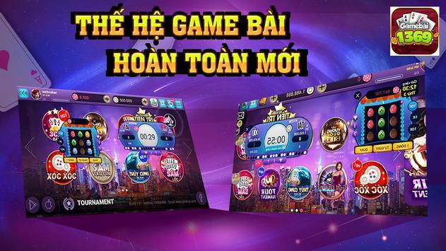 Game bai 1369, danh bai doi thuong,game bai online poster