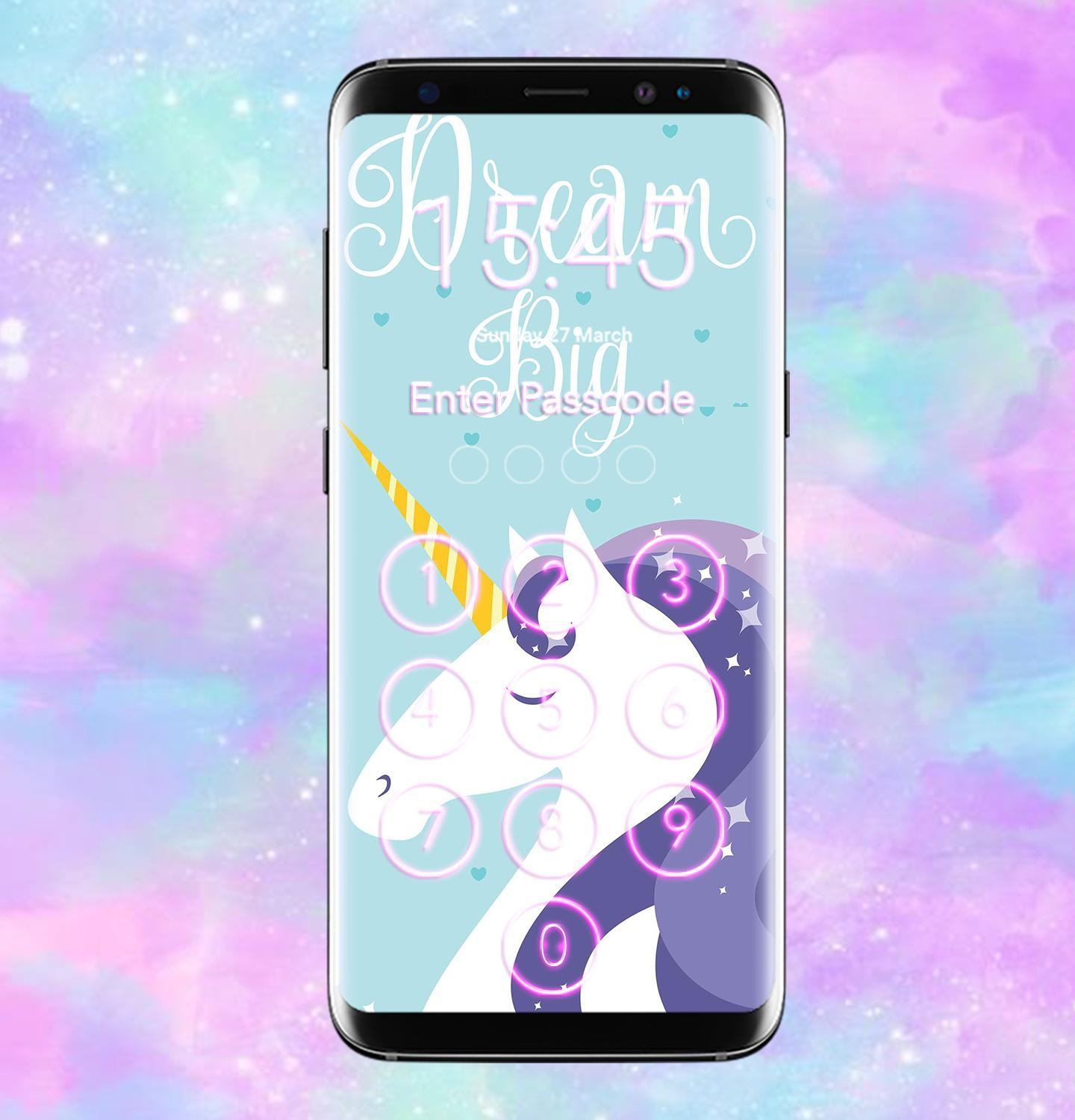 Unicorn Lock Screen Wallpaper Hd For Android Apk Download