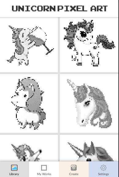 Unicorn раскраска по номерам для андроид скачать Apk