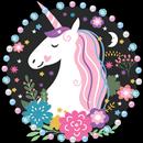 Unicorn Cartoon Theme APK