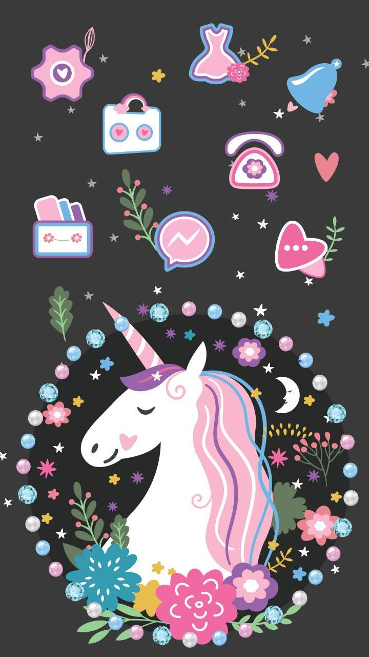 Unicorn Cartoon Theme For Android APK Download