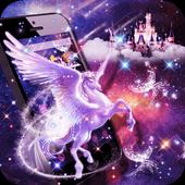 Unicorn Purple Dreamy Theme icon
