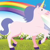 Unicorn Skater Adventure icon
