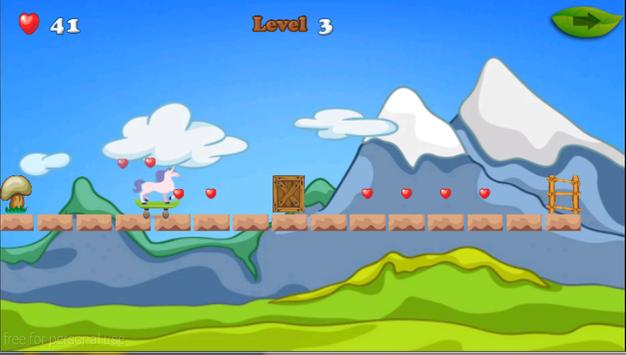 Unicorn Skater Adventure screenshot 3