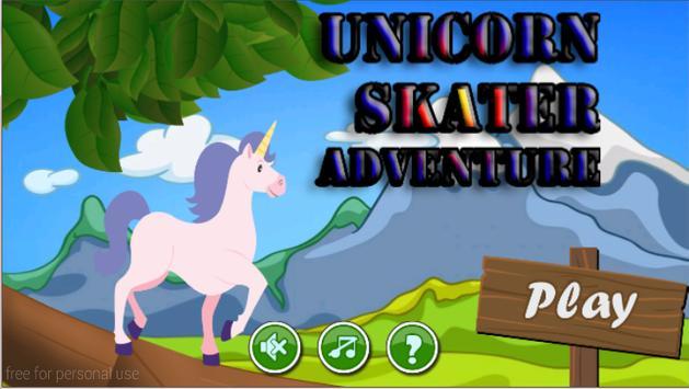 Unicorn Skater Adventure poster
