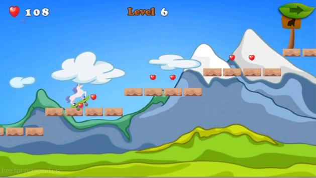 Unicorn Skater Adventure screenshot 14