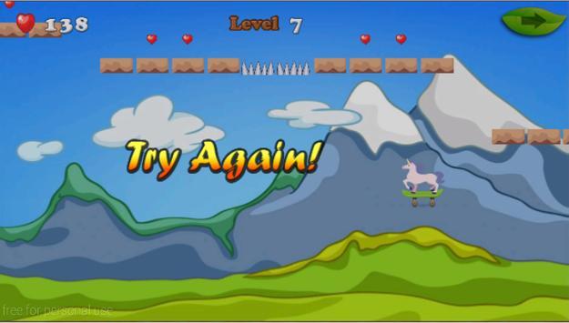 Unicorn Skater Adventure screenshot 23