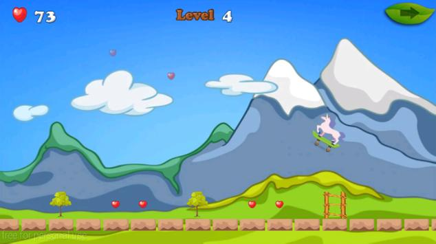 Unicorn Skater Adventure screenshot 4