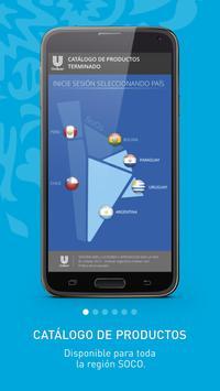 Catálogo de Productos Unilever poster