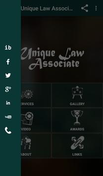 Unique Law Associate screenshot 1
