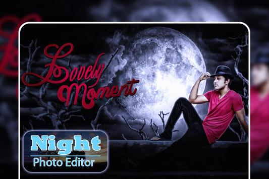 Night Photo Editor : Night Photo Frames poster