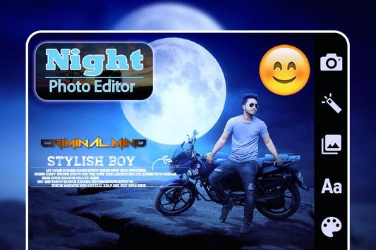 Night Photo Editor : Night Photo Frames screenshot 1