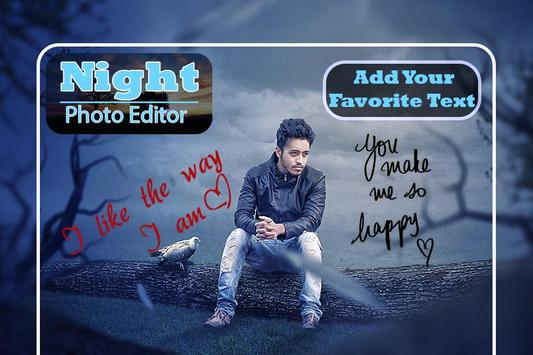Night Photo Editor : Night Photo Frames screenshot 2