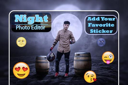 Night Photo Editor : Night Photo Frames screenshot 3