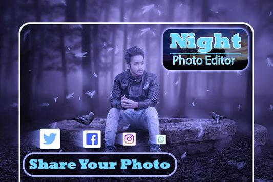 Night Photo Editor : Night Photo Frames screenshot 4