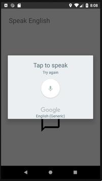 自分の発音が通用するかどうかをチェック!英語発音チェッカー! screenshot 1