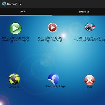 UniTech TV apk स्क्रीनशॉट