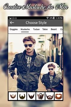 Man Mustache & Hair Style - Boys Photo Editor poster
