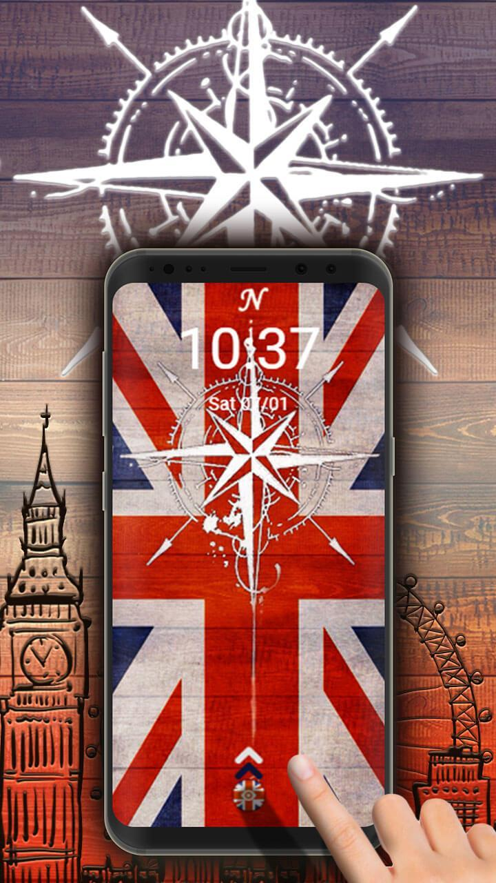 uk flag launcher for android apk download